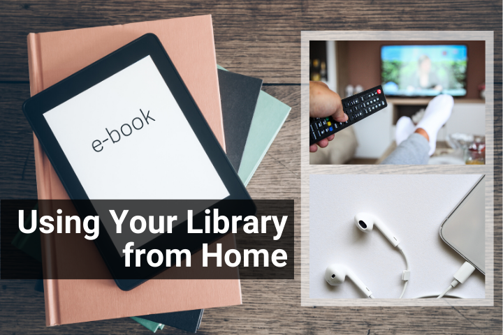 Using the Library from Home Image