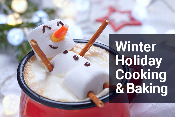 Winter Holiday Cooking And Baking Image
