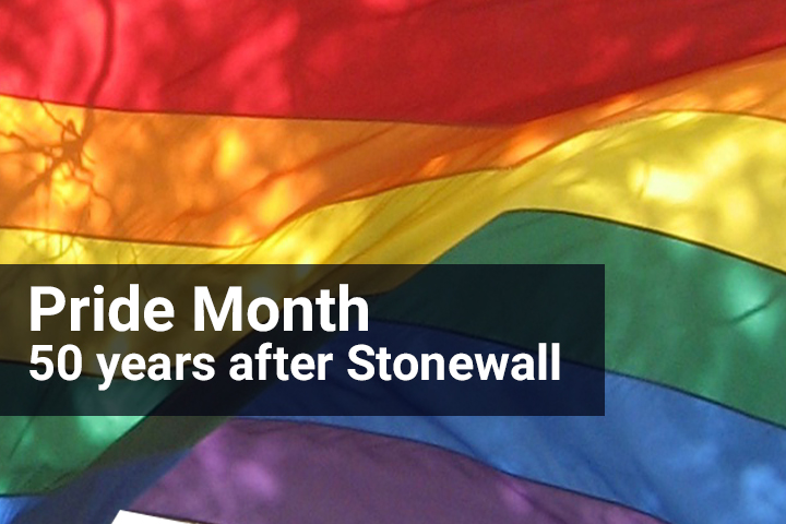 Pride Month- 50th Years After Stonewall Image